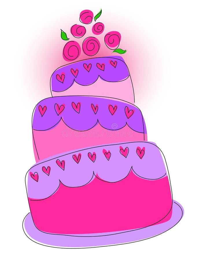 Torta dulce libre illustration