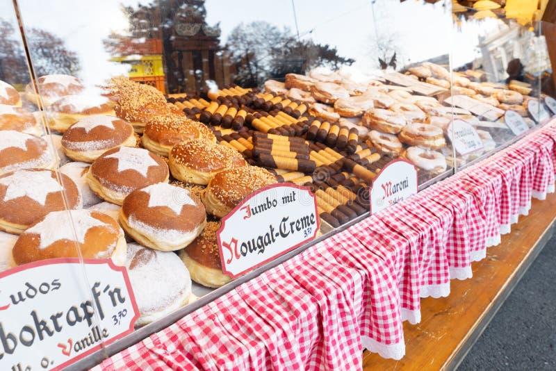 Torta dulce del waem de Krapfen fotografía de archivo libre de regalías