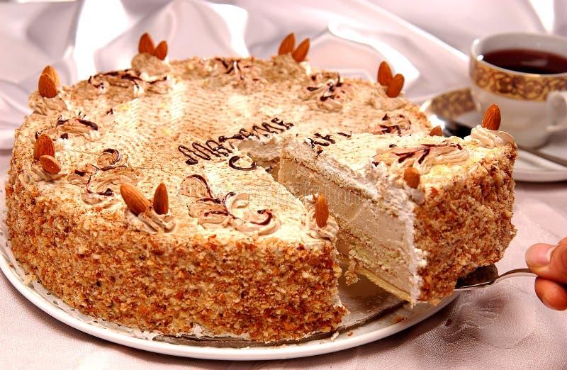 Torta ed alimento arabo fotografie stock libere da diritti