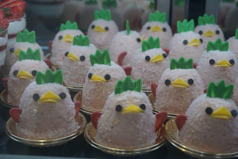 Torta formada pollo imagenes de archivo