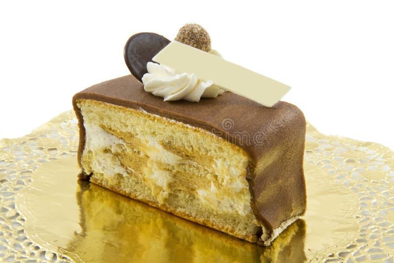 Torta fresca do café irlandês da parte imagem de stock royalty free