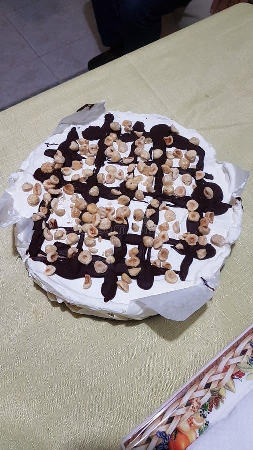 Torta gelato algida fotografia stock