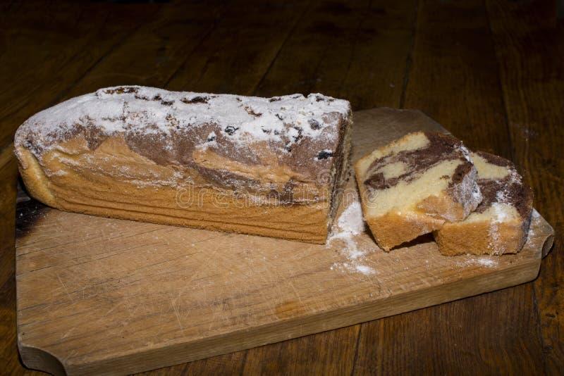 Torta hecha en casa imágenes de archivo libres de regalías