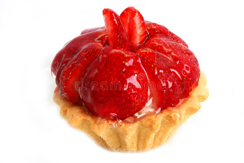 Download Torta Squisita Con La Fragola Candita Fotografia Stock - Immagine di alimento, ossequio: 7324144