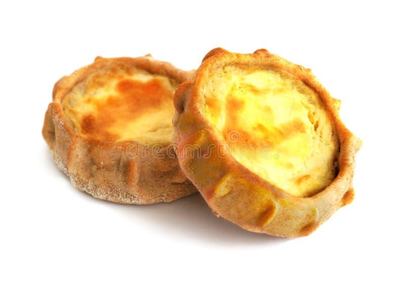 Torta tradicional cozida fresca com batatas imagem de stock