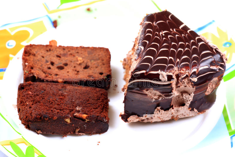 Torta y pasteles imagen de archivo