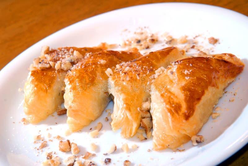 Tortas da pastelaria flaky imagem de stock royalty free