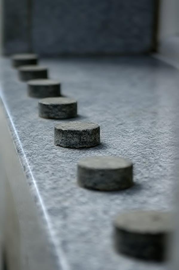 Tortas de la piedra foto de archivo