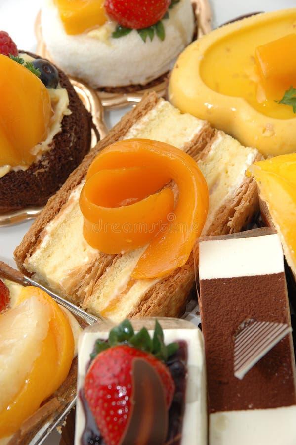 Tortas dulces foto de archivo libre de regalías