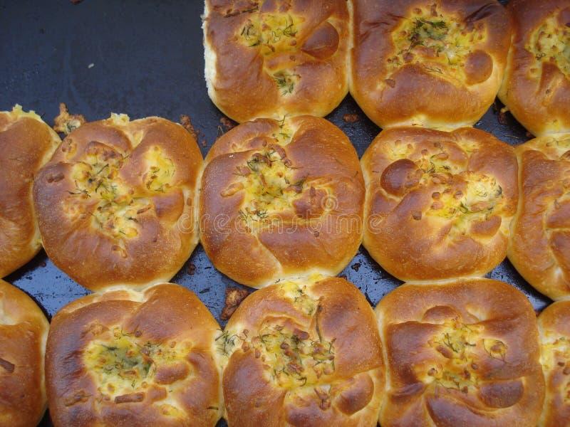 Tortas tradicionais romenas do queijo imagem de stock royalty free