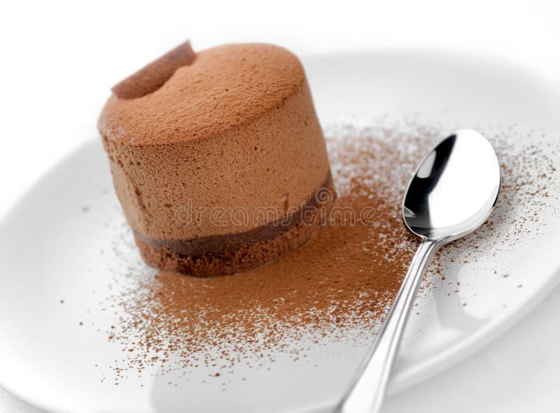 Torte belga del cioccolato   fotografia stock