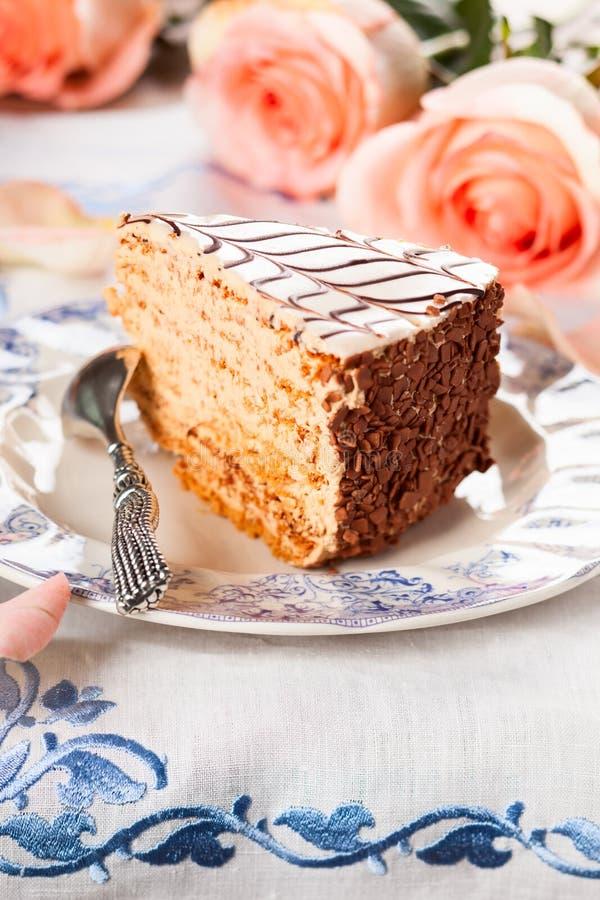 Torte de Esterhazy fotografia de stock