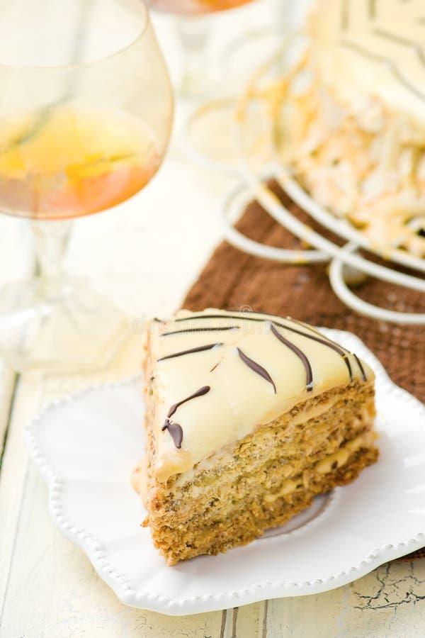 Torte de Esterhazy fotos de stock