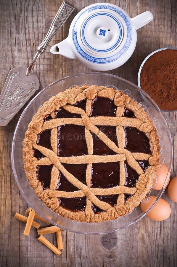 Torte de Linzer. fotos de stock