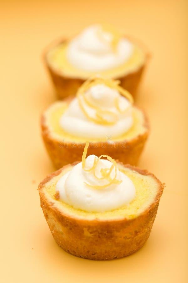 Torte del limone immagine stock