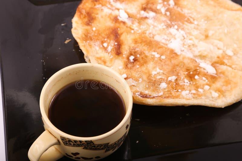 Torte mit Kaffee lizenzfreies stockfoto