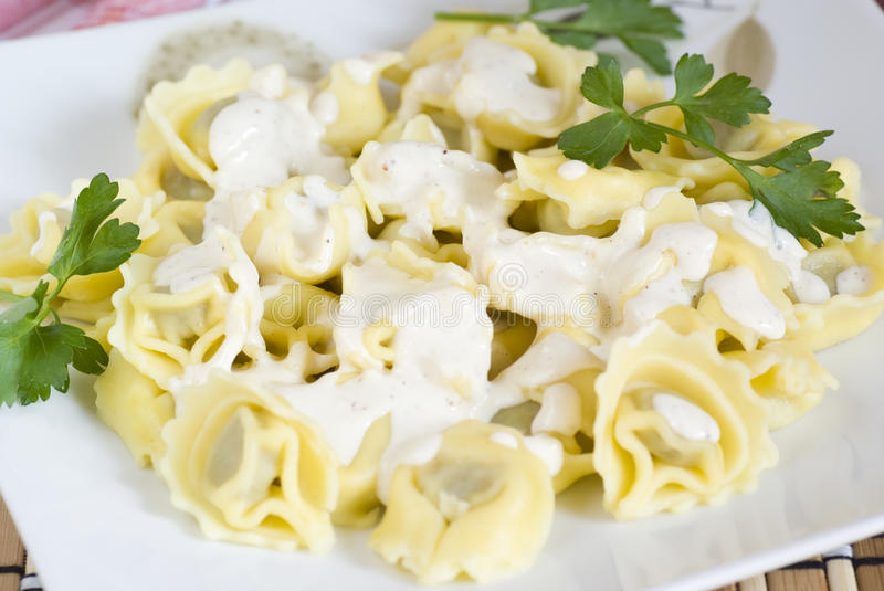 Tortellini stockfotos