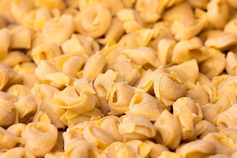 Tortellini, Włoscy pastas fotografia royalty free