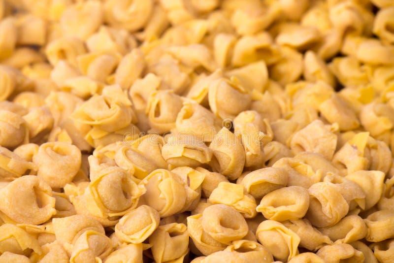 Tortellini, Włoscy pastas obrazy stock