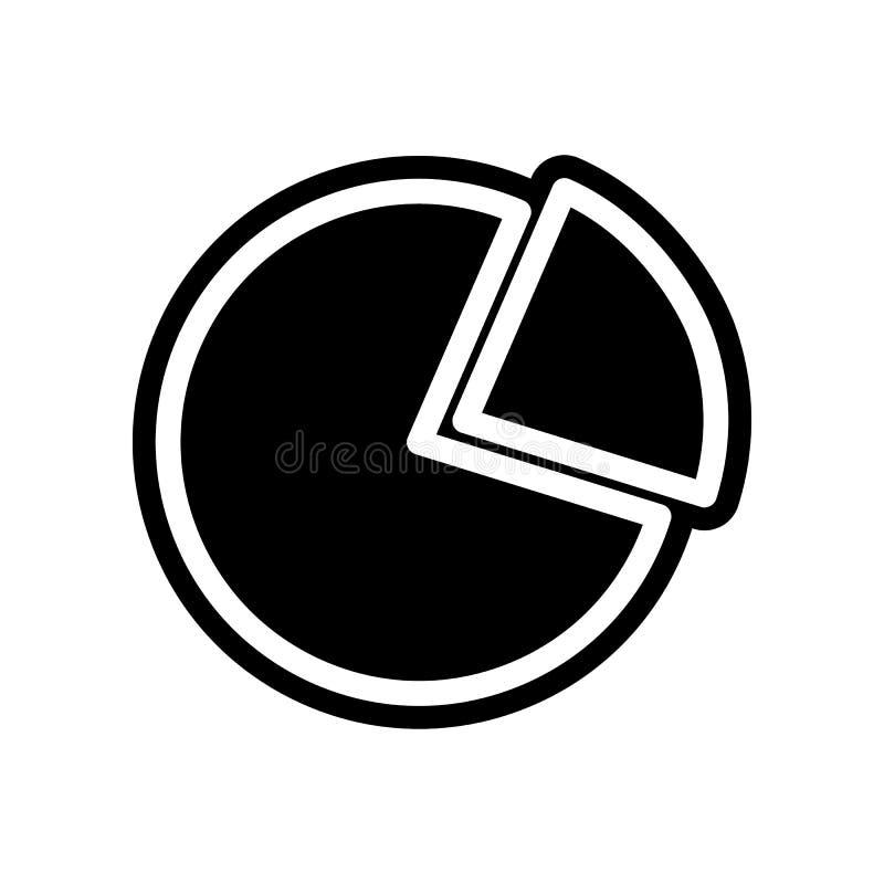 TORTEN-Diagrammikone Element der Finanzierung f?r bewegliches Konzept und Netz Appsikone Glyph, flache Ikone f?r Websiteentwurf u lizenzfreie abbildung