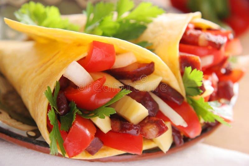 Tortiglia. fotografia stock