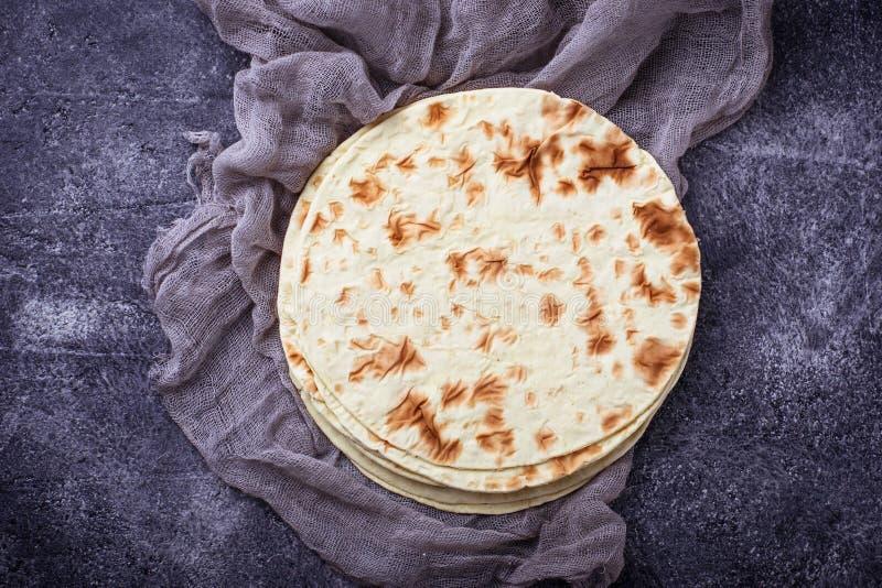 Tortiglii di cereale messicane fotografie stock
