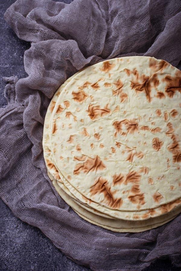 Tortiglii di cereale messicane immagine stock libera da diritti
