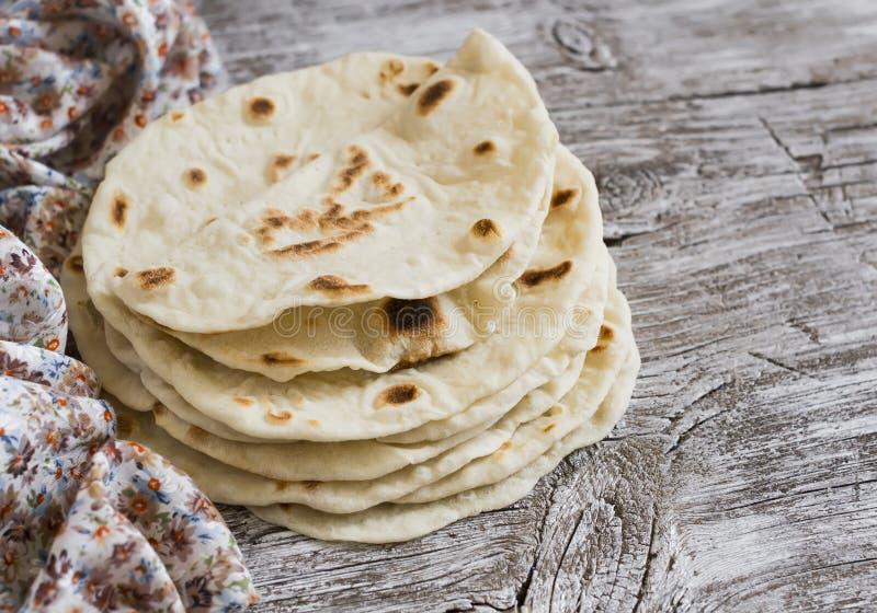 Tortilha caseiro foto de stock