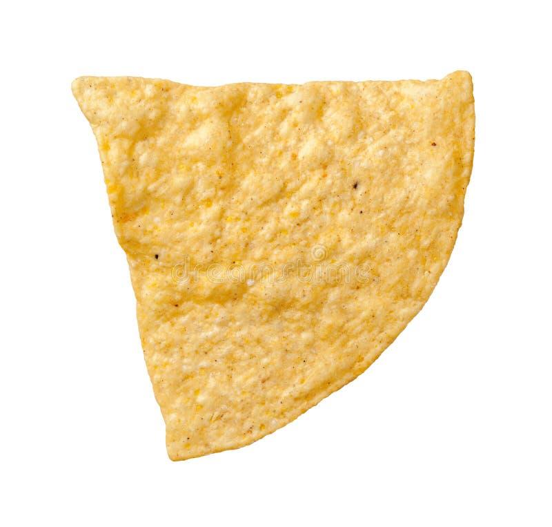 Tortilha Chip Isolated fotos de stock