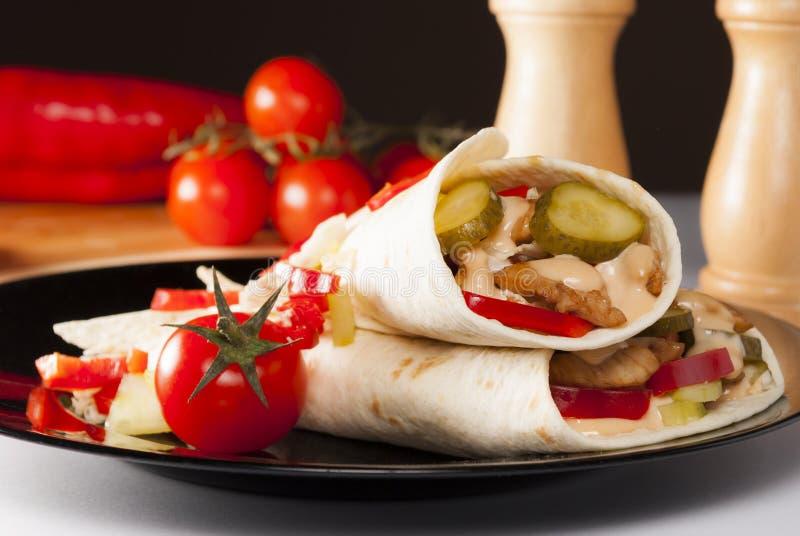 Download Tortilla стоковое изображение. изображение насчитывающей горяче - 40580561