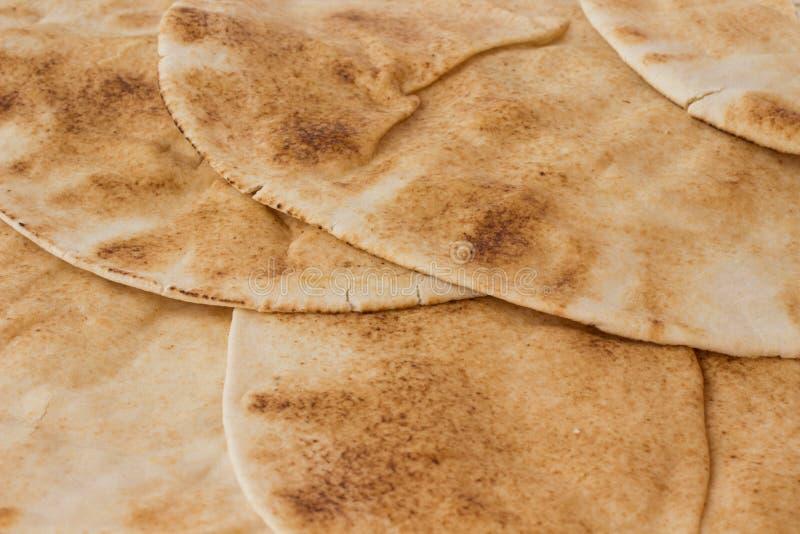 Tortilla, cakes van tarwemeel worden gemaakt dat royalty-vrije stock fotografie