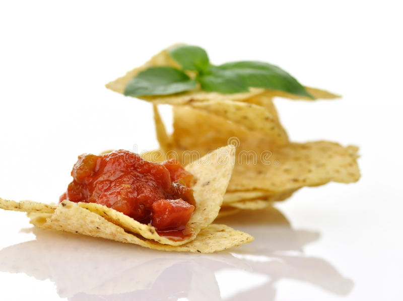 Download Tortilla chips stock photo. Image of tortilla, plate - 20385684