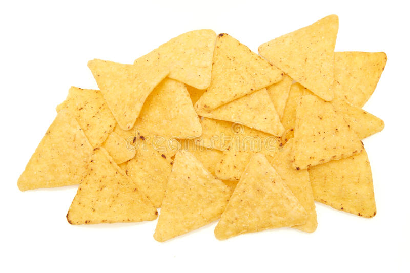 Tortilla-Chips stockbild