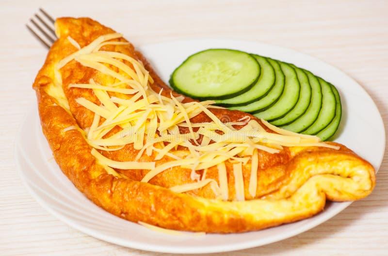 Tortilla con queso foto de archivo libre de regalías