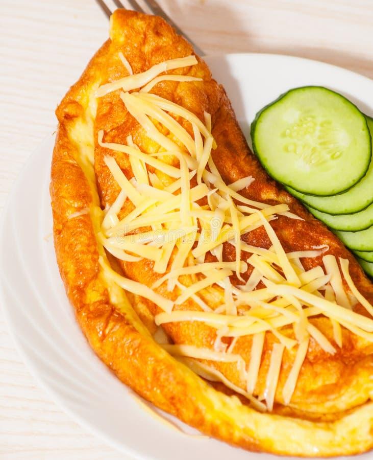 Tortilla con queso foto de archivo