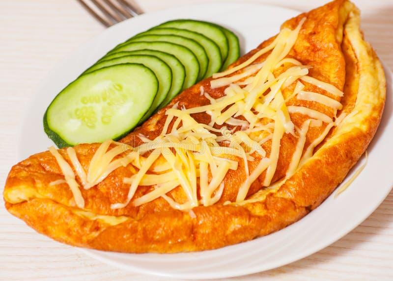 Tortilla con queso fotografía de archivo