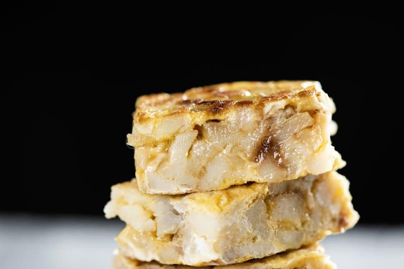 Tortilla de patatas, omelette espagnole photos stock