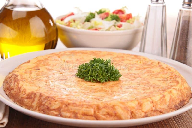 Tortilla de pomme de terre images stock