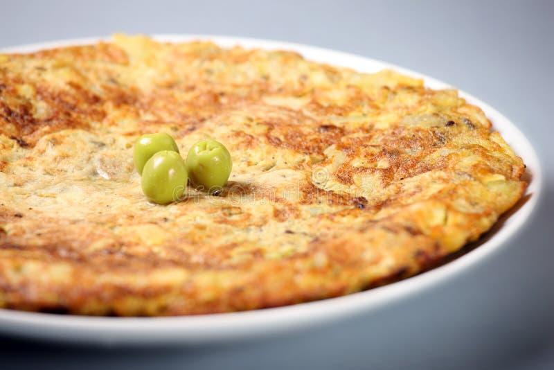Tortilla espanhol fotografia de stock royalty free