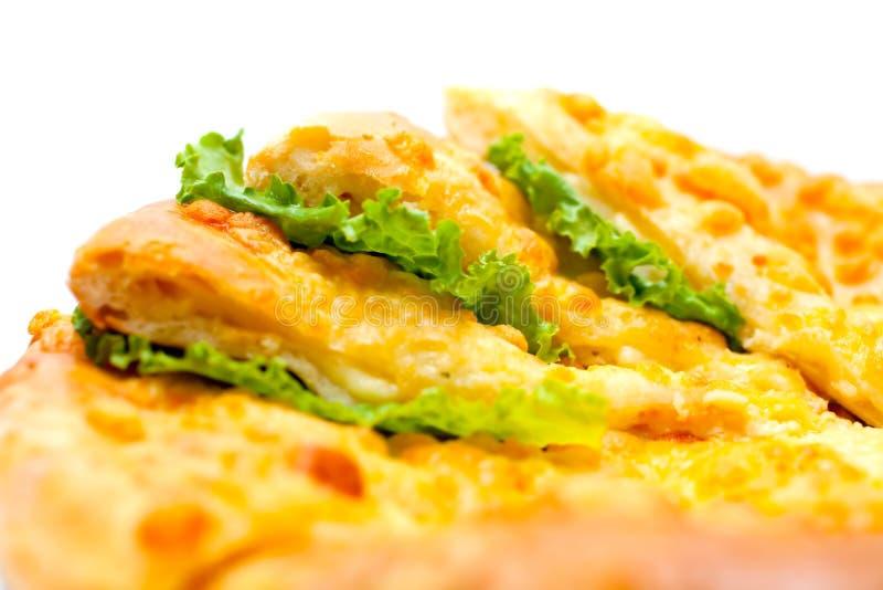 Tortilla faszerował z mięsem zdjęcie royalty free