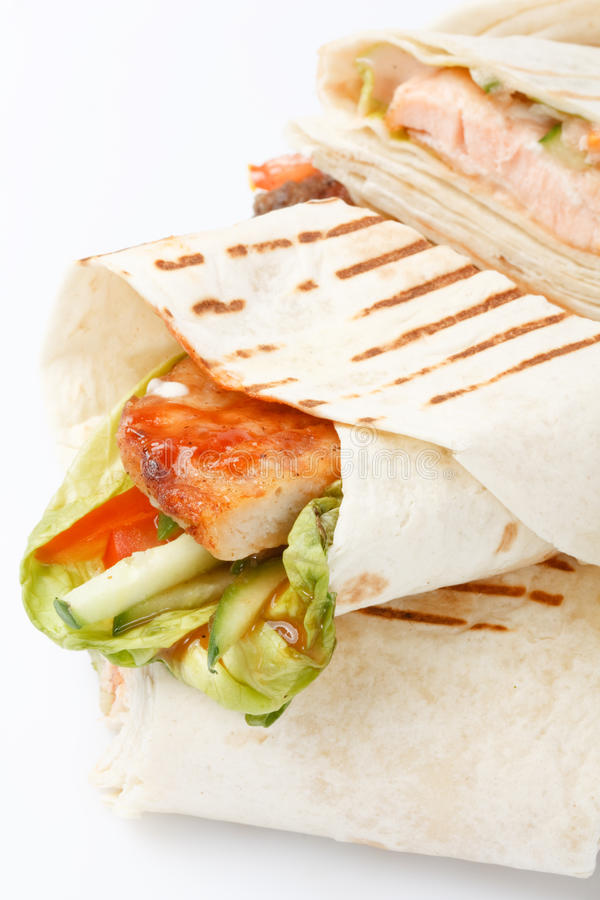 tortilla opakunek zdjęcie stock