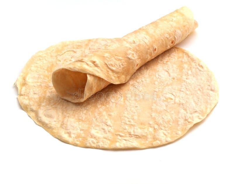Tortilla rolado foto de stock royalty free