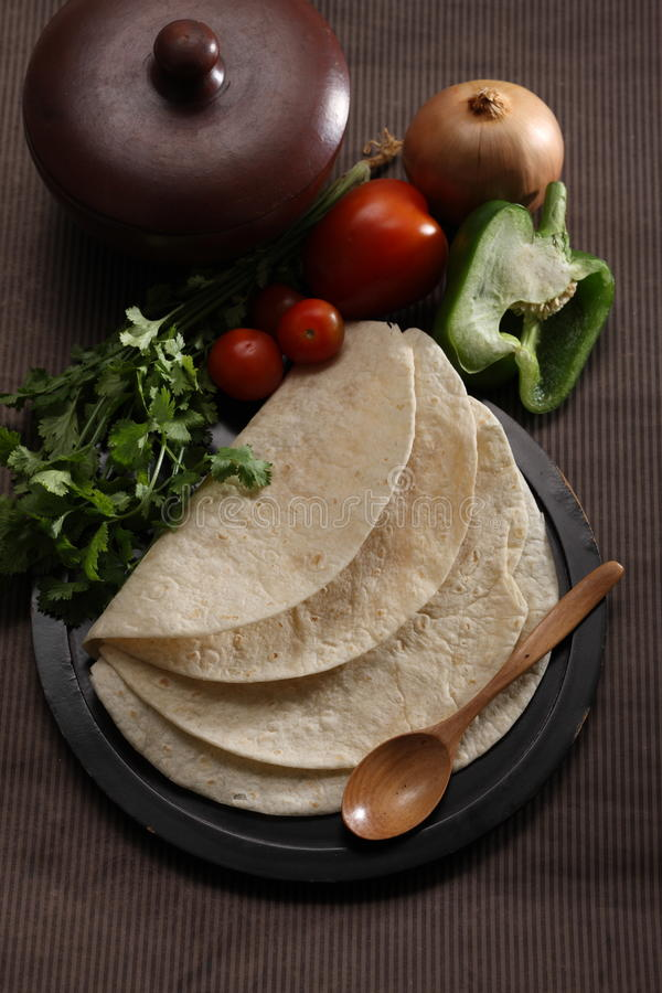 Tortillas photographie stock libre de droits