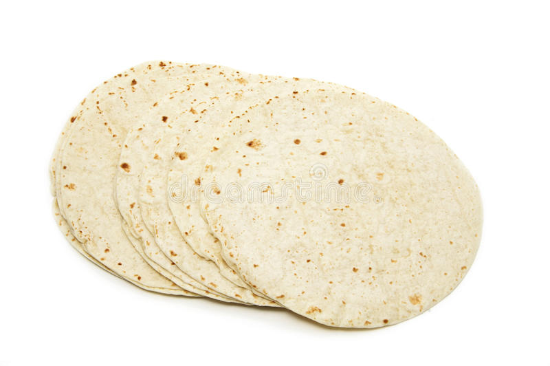 Tortillas de farine photo stock