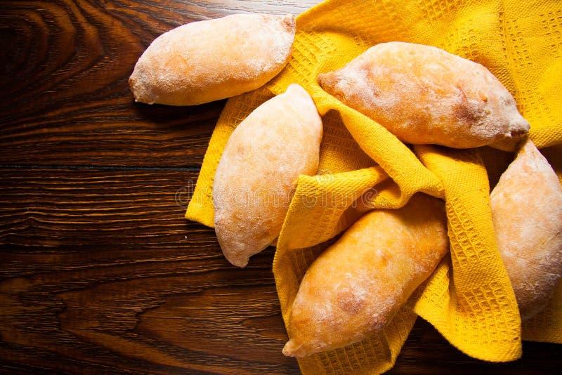 Tortini con la patata fotografia stock libera da diritti