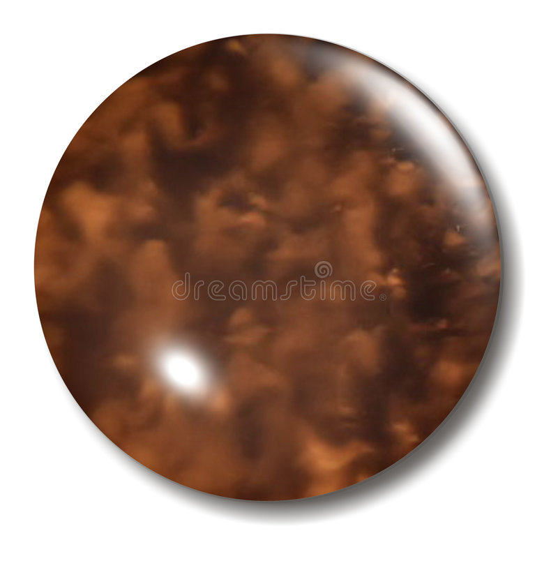 Free Tortoise Shell Button Orb Royalty Free Stock Image - 1046696