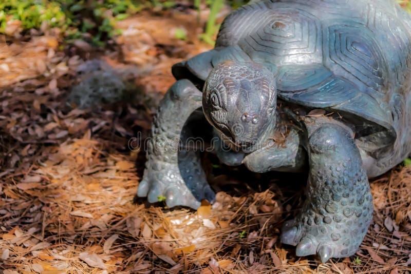 Tortoise statua zdjęcie stock