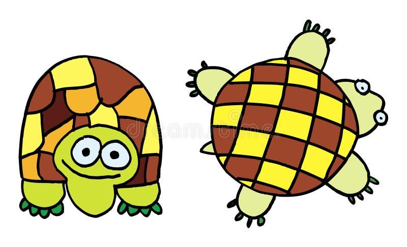 Tortoises stock illustration