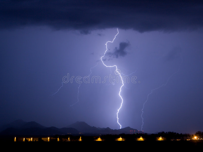 Download Tortolita Lightning stock image. Image of power, hangers - 387443