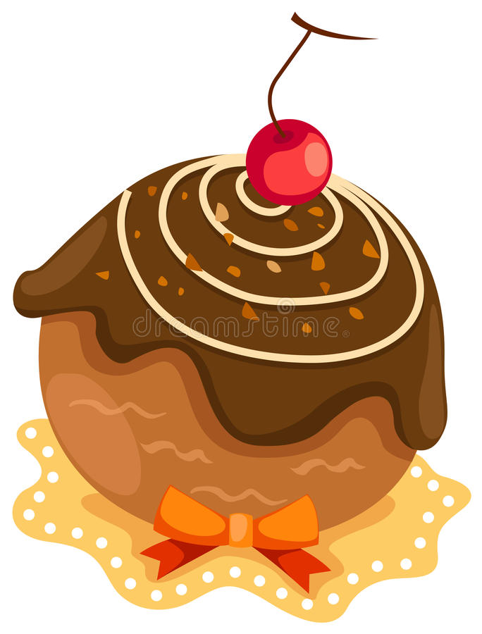 tortowa czekolada ilustracja wektor
